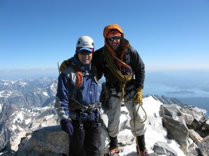 Mountain Athlete Summits Grand  Photo: Pat Ormond