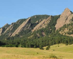 The Flatirons - Boulder, CO  Photo