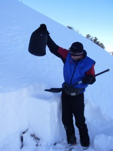 Exum Avalanche Instructor Nat Patridge