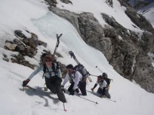 Spring Skiing in the Tetons   Photo: Nat Patridge