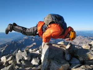Steve Connelly, Grand Teton Summit September 2009